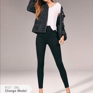 🆕Abercrombie & Fitch high rise jean legging 29